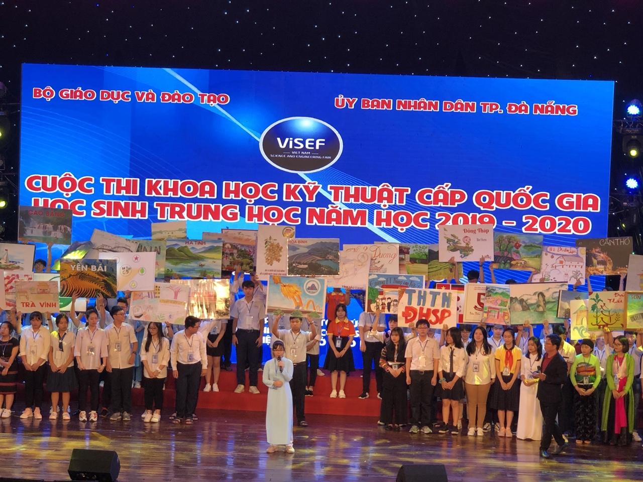 Dự án ATBOT – Giải pháp Robot tiện ích dành cho người Việt, đạt giải Nhì cuộc thi KHKT cấp quốc gia học sinh trung học năm học 2019-2020.