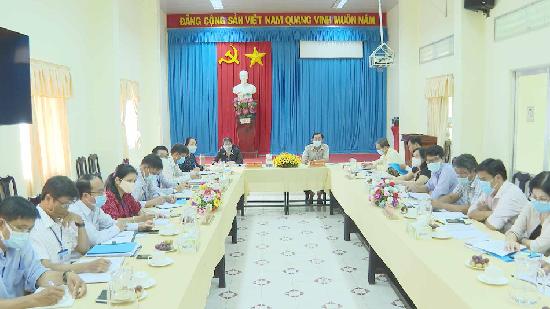Phó Chủ tịch UBND tỉnh Trà Vinh làm việc với ngành Giáo dục và Đào tạo tỉnh Trà Vinh