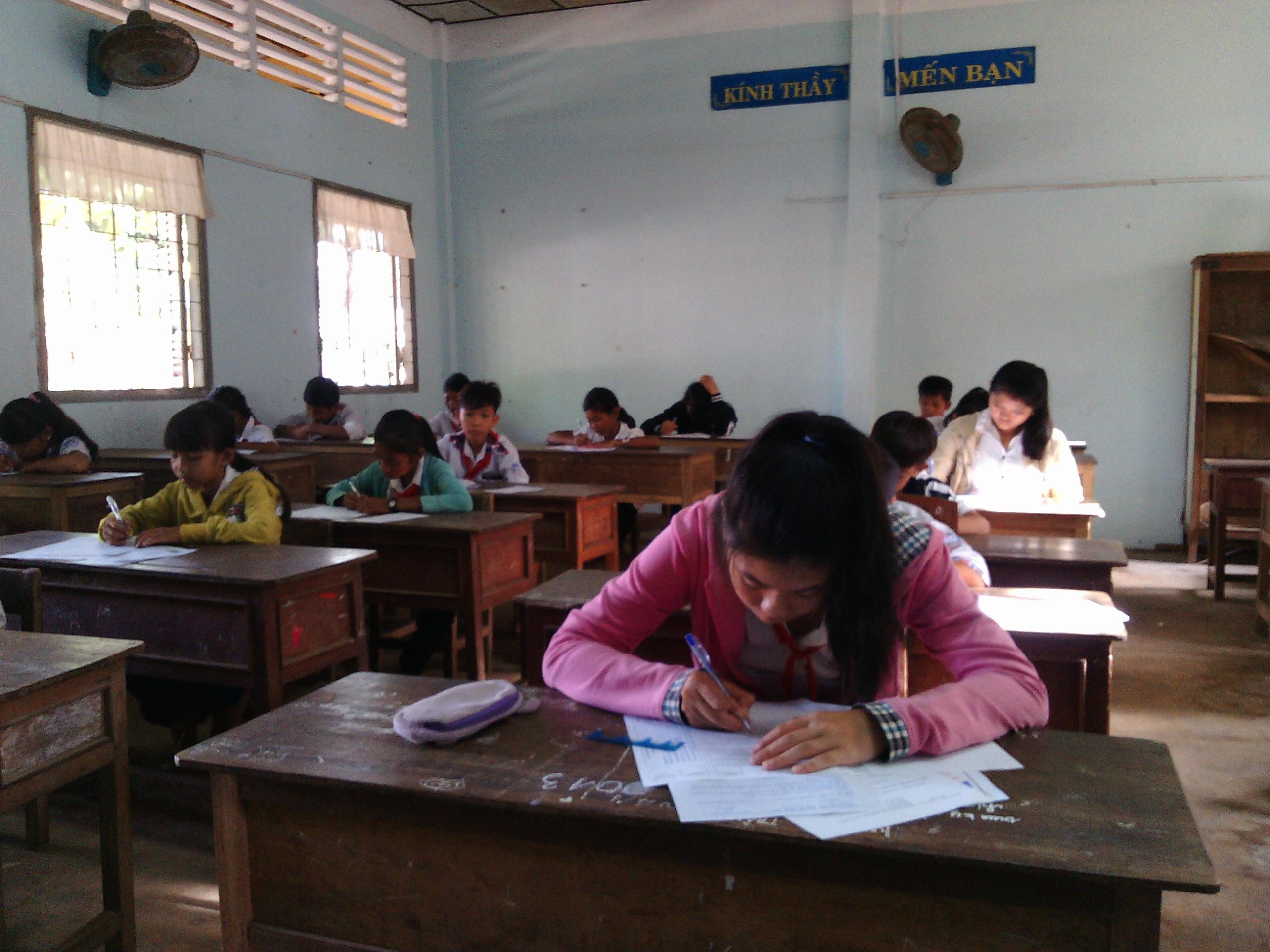 Sở Giáo dục và Đào tạo Trà Vinh, tổ chức Kỳ thi công nhận trình độ cấp tiểu học và cấp THCS môn tiếng Khmer đợt 2 năm học 2018-2019
