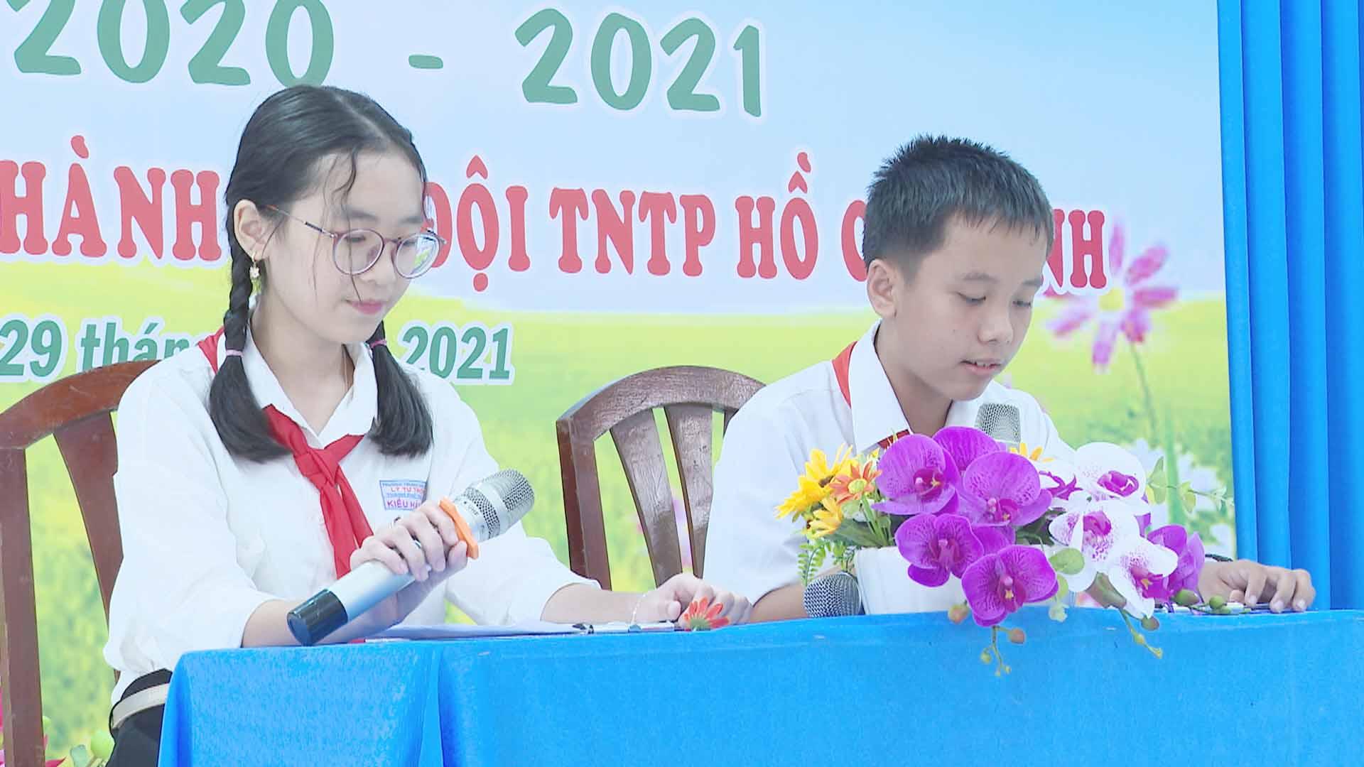 Liên hoan các Đội tuyên truyền Măng Non năm 2021