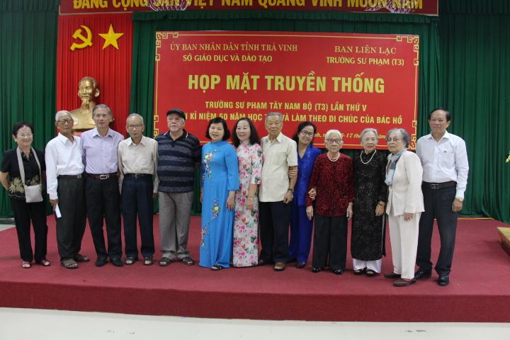 Họp mặt truyền thống Trường Sư phạm Tây Nam Bộ (T3) lần thứ V nhân dịp 50 năm thực hiện Di chúc của Chủ tịch Hồ Chí Minh