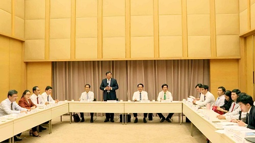 Lãnh đạo tỉnh Trà Vinh làm việc với Tổng lãnh sự quán Nhật Bản tại Thành phố Hồ Chí Minh