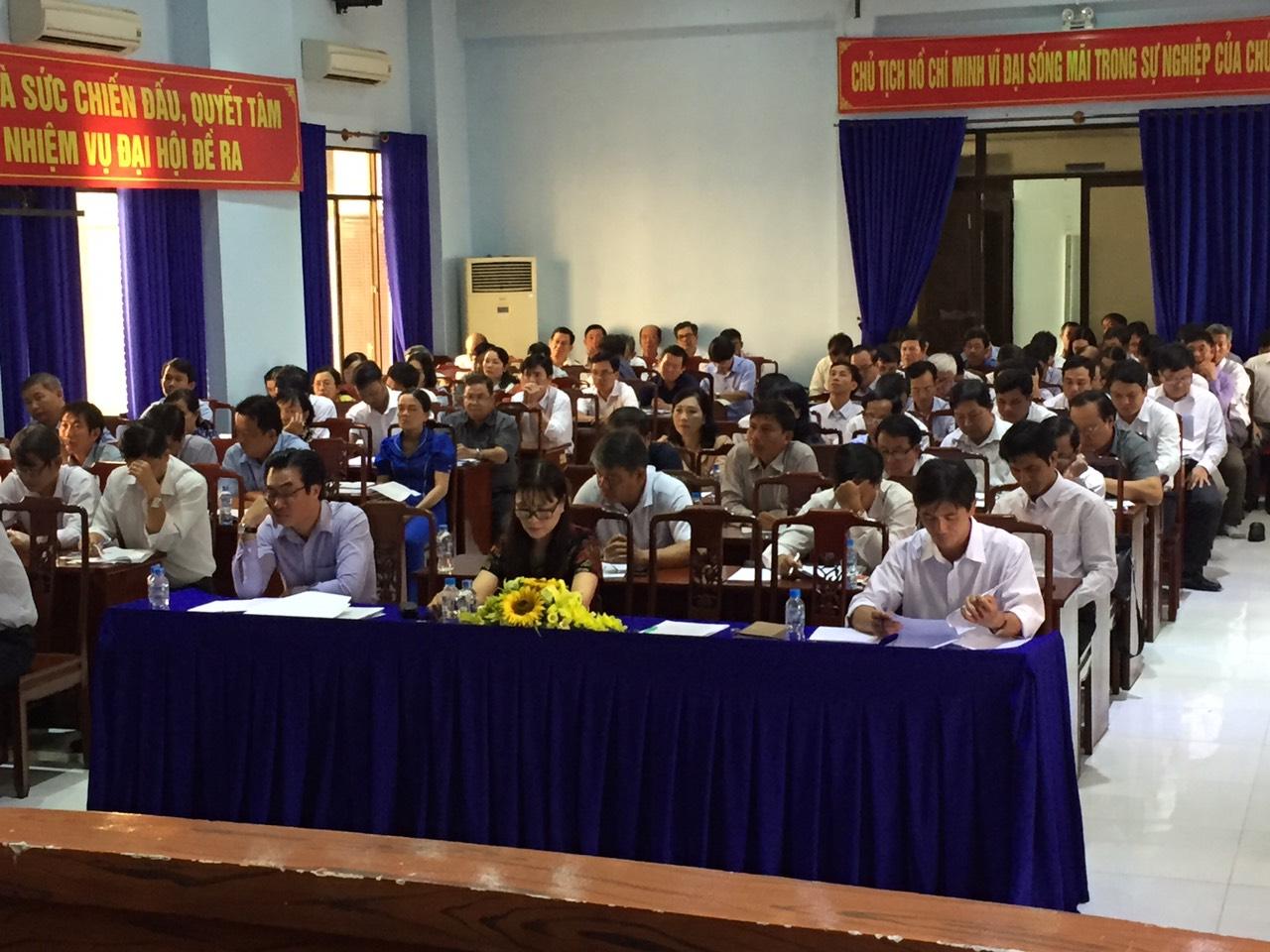 Phòng Giáo dục trung học, tổ chức Hội nghị tổng kết năm học 2019 - 2020 và triển khai kế hoạch thực hiện nhiệm vụ năm học 2020 – 2021