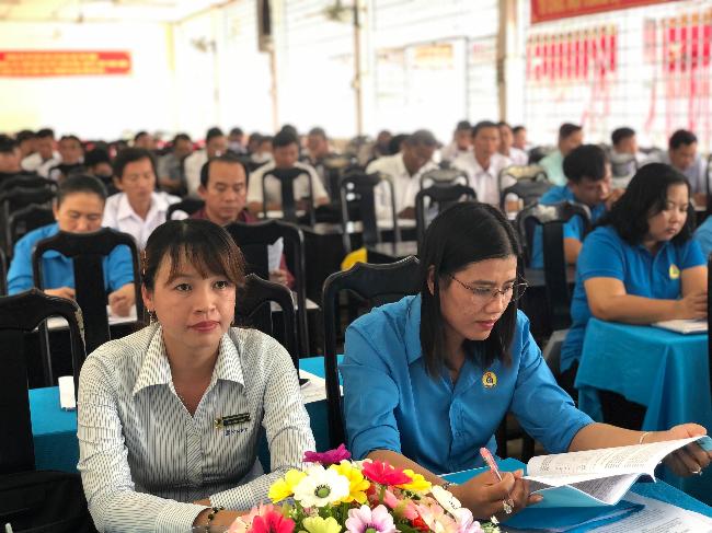 Hội nghị Ban chấp hành Công đoàn giáo dục tỉnh lần 6 khóa X