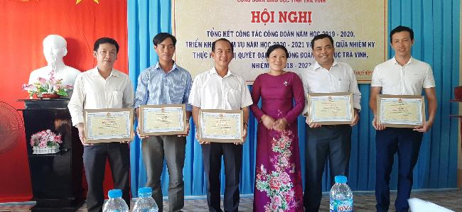 Hội nghị tổng kết hoạt động công đoàn năm học 2019-2020