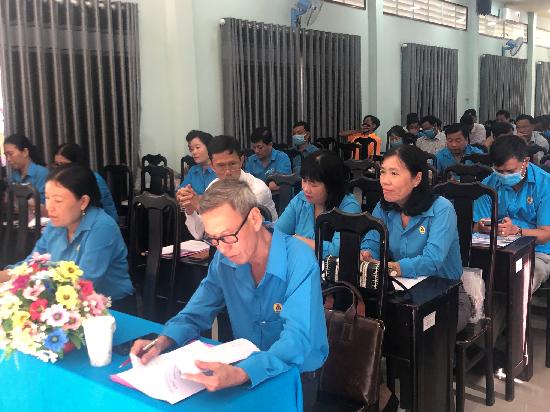 Hội nghị Ban chấp hành công đoàn giáo dục tỉnh lần thứ VIII mừng Đảng, mừng Xuân Tân Sửu 2021