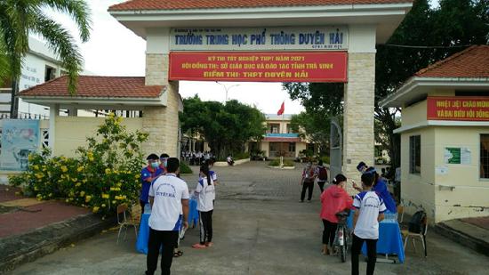 Kết quả kì thi tốt nghiệp THPT của trường THPT Duyên Hải tỉnh Trà Vinh
