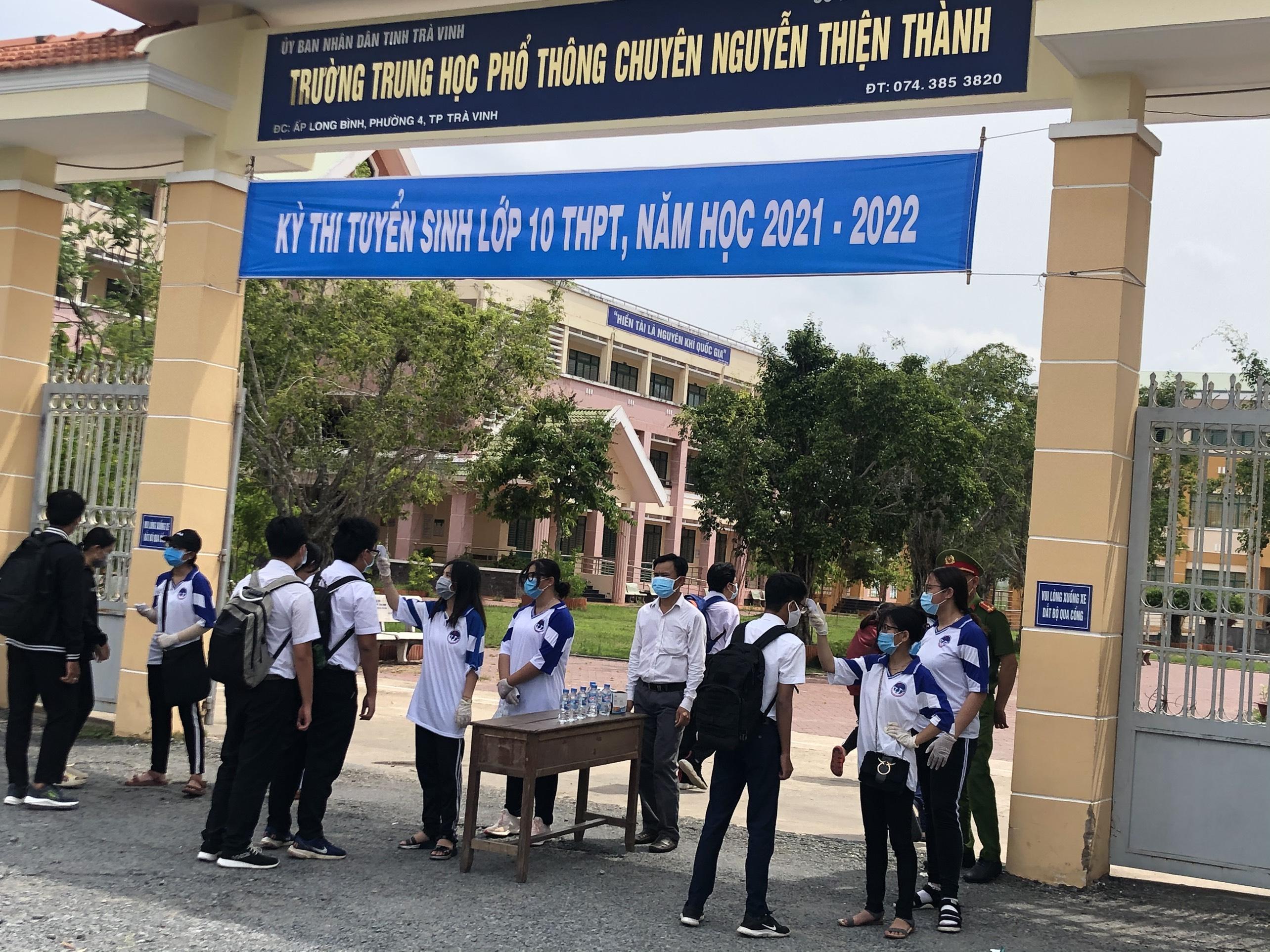 Trà Vinh tổ chức Kỳ thi tuyển sinh lớp 10 năm học 2021-2022
