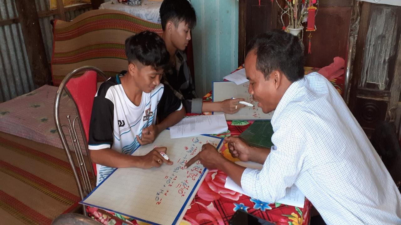 Trường THPT Long Khánh hỗ trợ học sinh tự học, ôn tập tại nhà