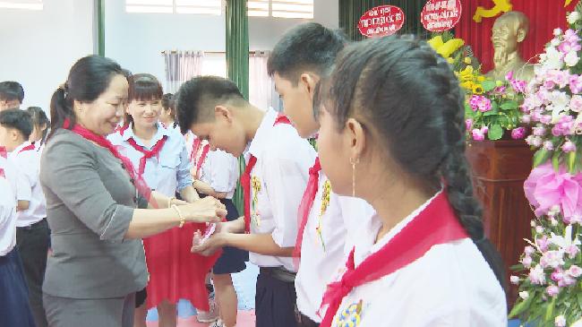 Đại hội cháu ngoan Bác Hồ huyện Cầu Kè lần thứ IX năm 2020
