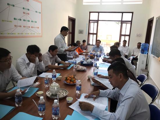 Công bố Quyết định thanh tra tại trường Trung cấp Pali - Khmer Trà Vinh