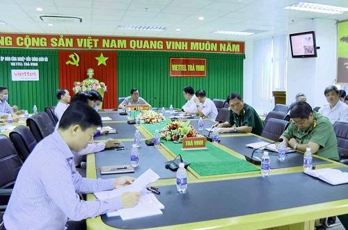 Trà Vinh tham gia Hội nghị trực tuyến toàn quốc về tăng cường công tác phòng chống dịch Covid-19