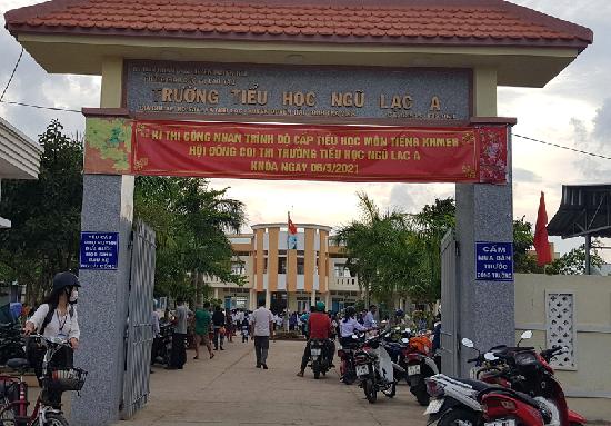 Kỳ thi công nhận trình độ cấp tiểu học và cấp THCS môn tiếng Khmer lần thứ 2 năm học 2020-2021